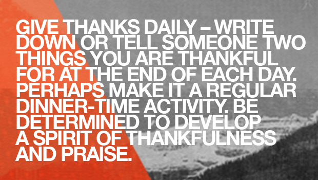 Day 37: Give Thanks