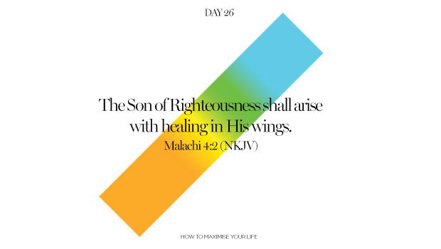 Day 26: Healed
