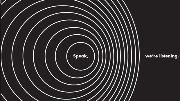 SPEAK, WE'RE LISTENING - The Script