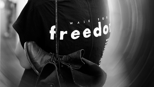 October 2014: Walk for Freedom