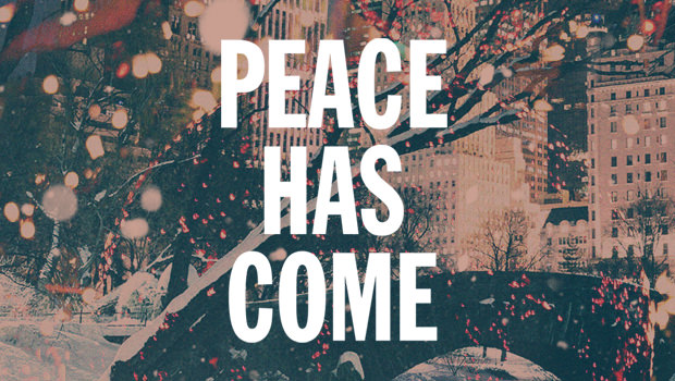 New Christmas Song: Peace Has Come