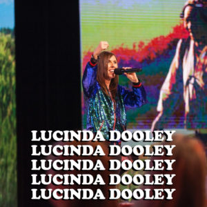 Listen to an inspiring message from Lucinda Dooley - Sisterhood'18