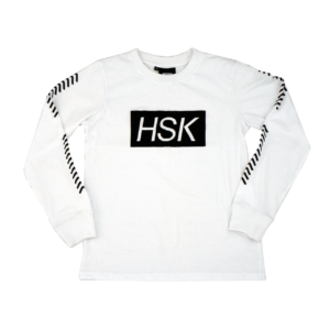 HSK White Long Sleeve T-Shirt