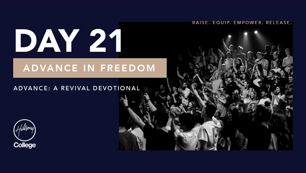 Advance: A Revival Devotional Day 21