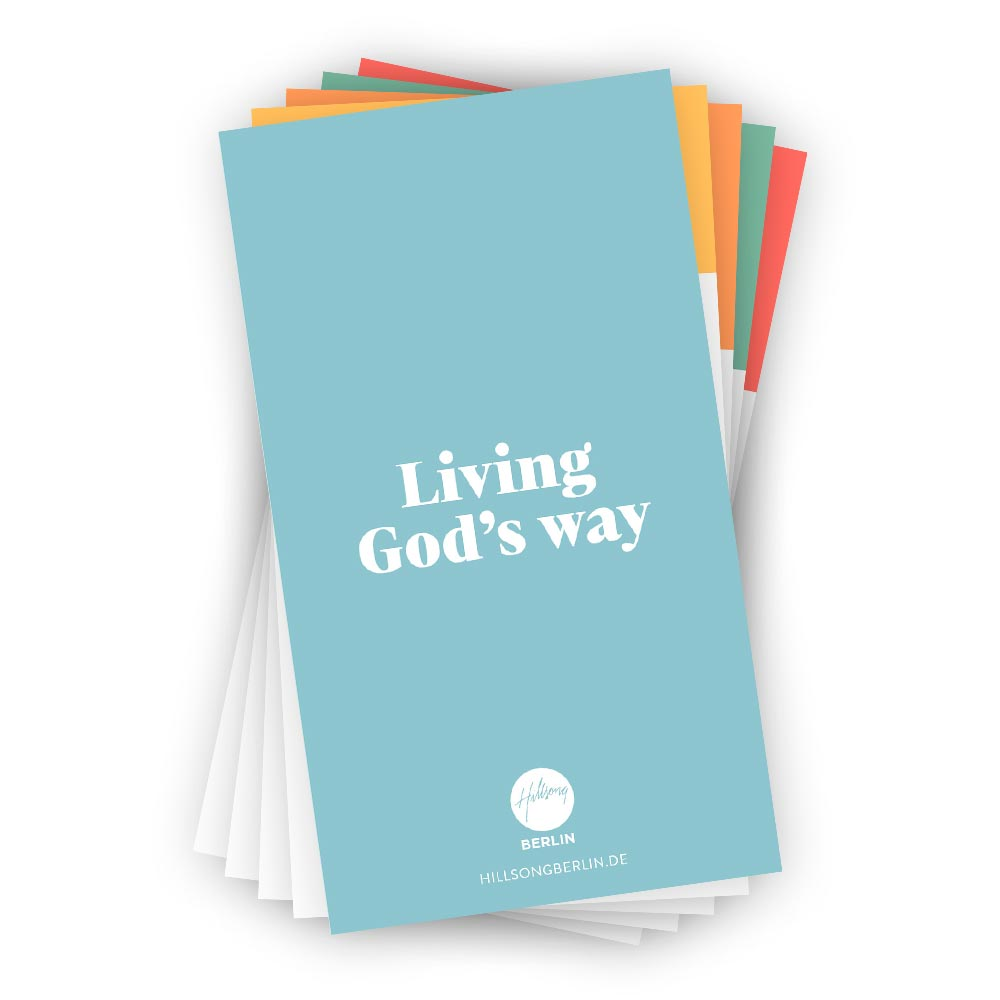 Living God's way
