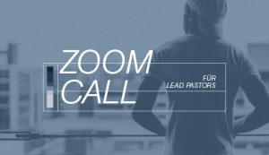 Zoom-Call für Lead-Pastoren