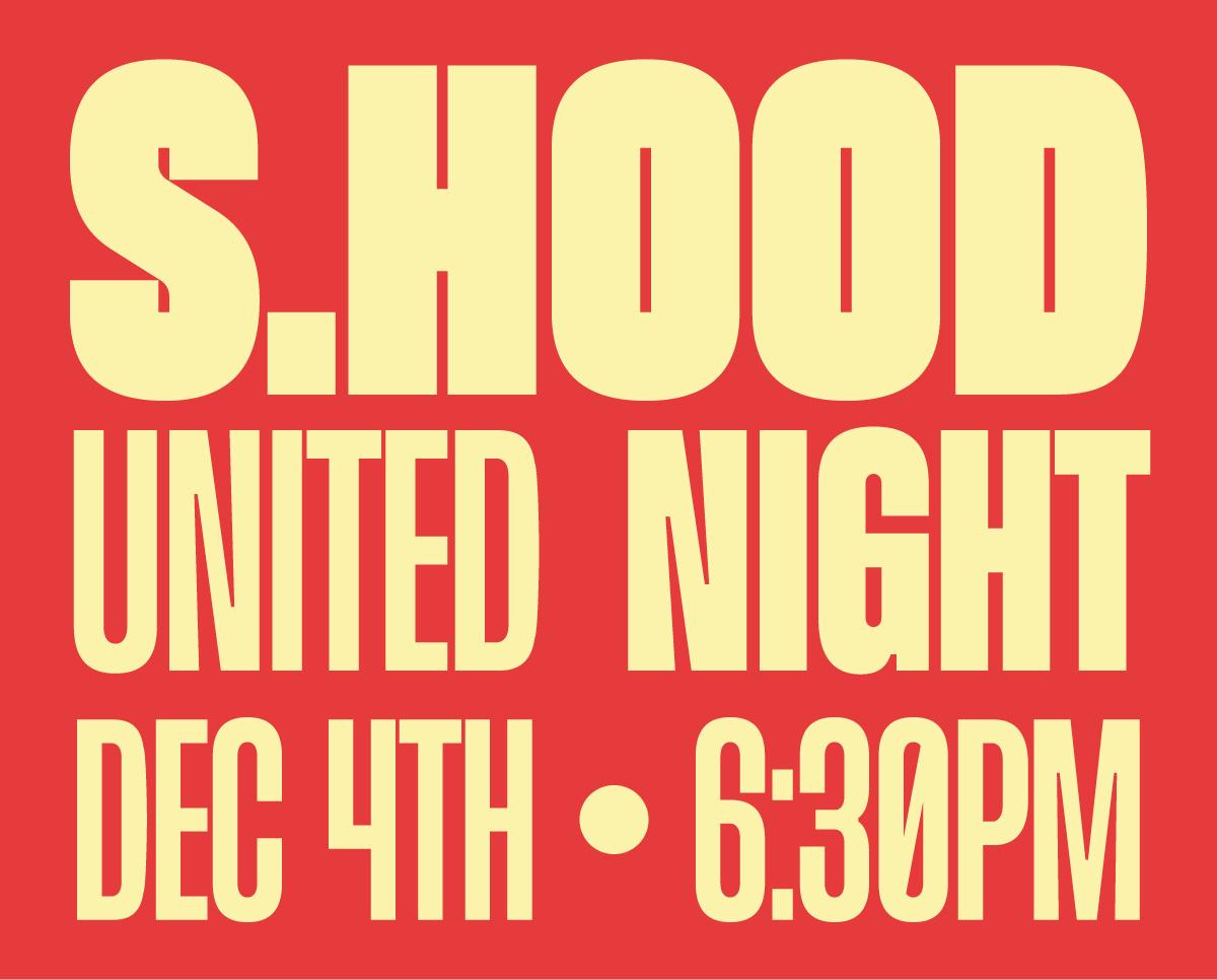 Sisterhood United Night