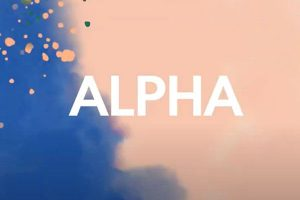 sign up for alpha